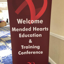 Today Mended Hearts kicked off our Annual Educational and Training Conference with sessions about the future of serving heart patients. Looking forward to our week!